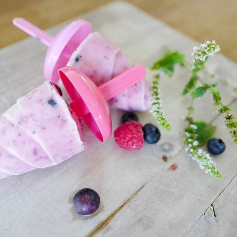 Joghurt-Eis-Erfrischung