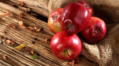 … 159.432 gegessene Äpfel in 2017