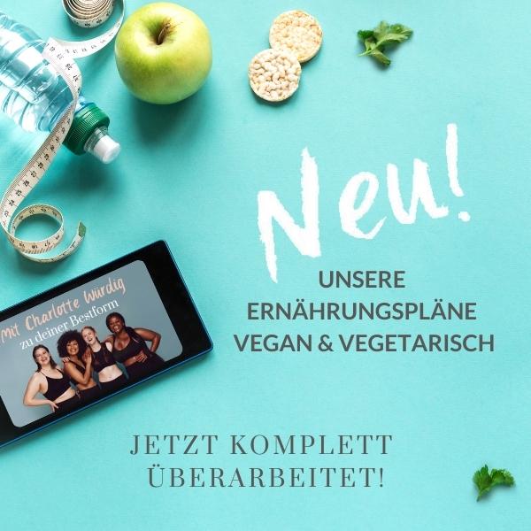 Neue Pläne für vegane & vegetarische Ernährung