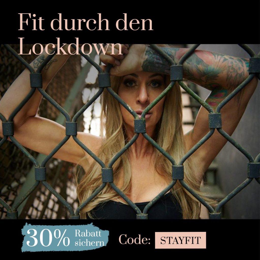 Fit durch den Lockdown: 30% Rabatt!